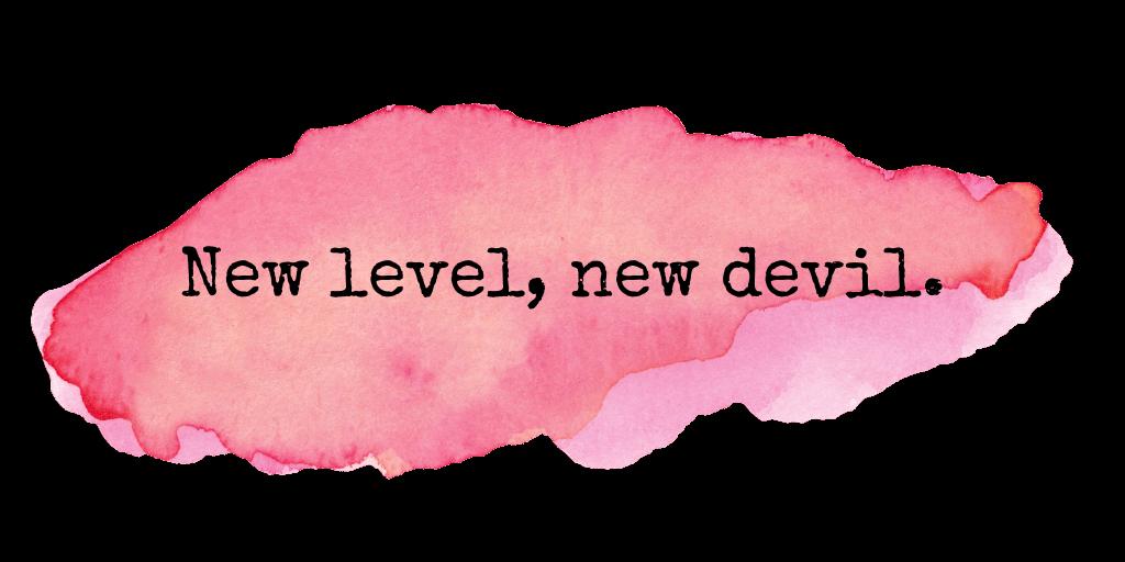 Blog new level new devil
